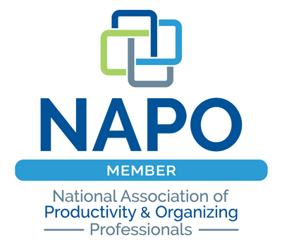 Member of NAPO, National Association of Professional Organizers